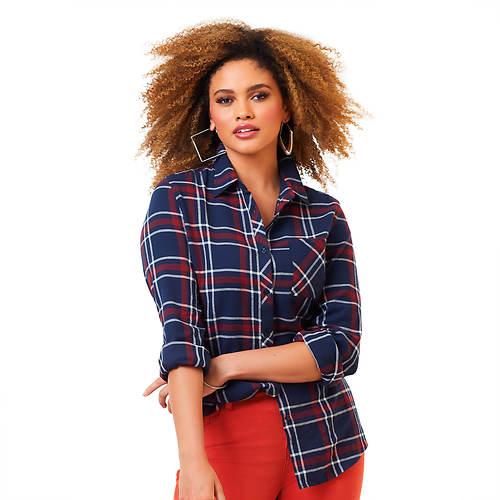 Favorite Flannel Plaid Shirt