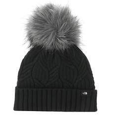 The North Face Girls' Oh-Mega Fur Pom Beanie