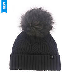 The North Face Girls' Oh-Mega Fur Pom Beanie