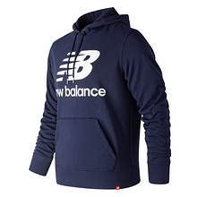 New Balance Men's Essentials Stacked FT PO Hoodie