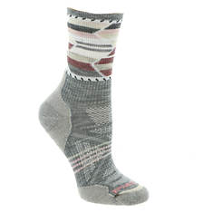 Smartwool Women's PhD Outdoor Light Pattern Mid-Crew Socks