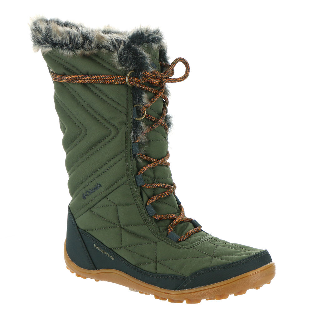 *Stay comfy while sledding shoveling walking the dog and more when you wear this waterproof winter boot *Waterproof quilted fabric upper with faux fur collar lining *10\\\