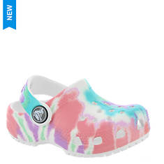 Crocs™ Classic Tie Dye Graphic Clog (Kids Infant-Toddler-Youth)