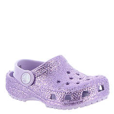 Crocs™ Classic  Glitter Clog (Girls' Infant-Toddler-Youth)