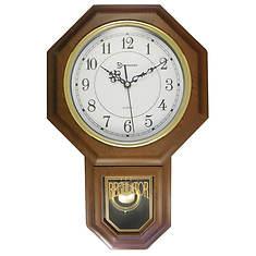 "17"" Modern Pendulum Wall Clock"