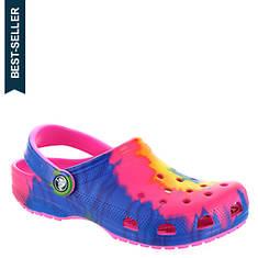 Crocs™ Classic Tie Dye Graphic Clog (Unisex)