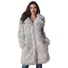 Teddy Bear Faux Fur Coat