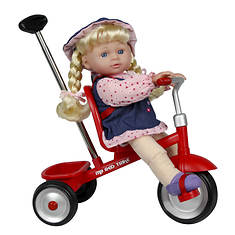 """Kid Concepts 12"""" Doll with Trike"""