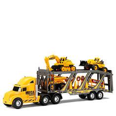 """New Bright 22"""" Mega Construction Hauler Set"""