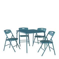 Cosco 5-Piece Padded Vinyl Table & Chair Set