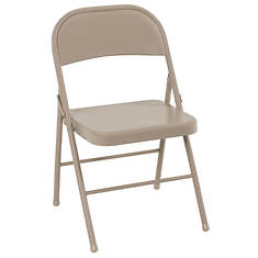 Cosco 4-Pack All Steel Folding Chair Set
