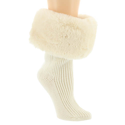 UGG® Sienna Faux Fur Short Rainboot Sock