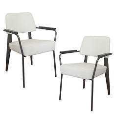 AmeriHome 2-Piece Fauteuil Direction Accent Chairs