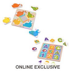 Melissa & Doug Baby First Play Mixed Puzzle Bundle