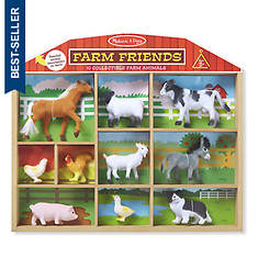 Melissa & Doug Farm Friends - 10 Farm Animals