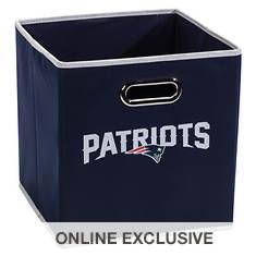 NFL Collapsible Storage Bin