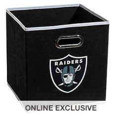 NFL Collapsible Storage Bin