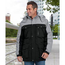 Men's Colorblock Parka