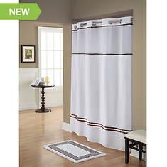 Surefit Monterey Hookless Shower Curtain