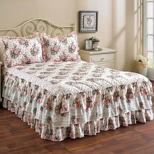 Triple Ruffle Bedspread