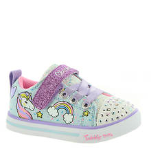 Skechers TT Sparkle Lite-Unicorn Craze10988N (Girls' Infant-Toddler)