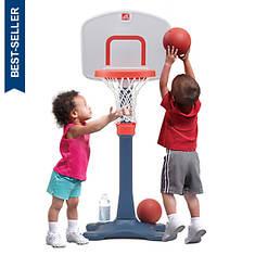 Step2 Shootin' Hoops Jr. Adjustable Basketball Set