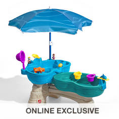 Step2 Spill & Splash Table with Umbrella
