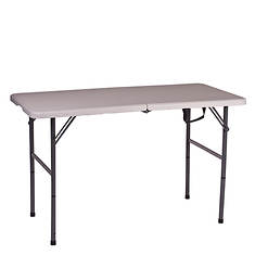 """Stansport Folding Table 48""""x24""""x29"""""""