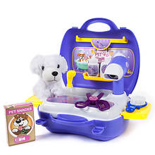 Pet Grooming 16-Piece Playset