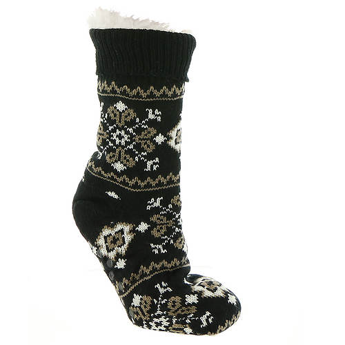 BEARPAW Women's Nordic Sherpa Slipper Sock