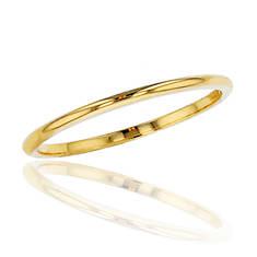 10K Gold 1mm Plain Wedding Band