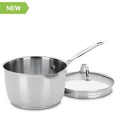 Cuisinart 3-Quart Saucepan with Drain Lid