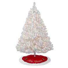 7' White Tree - Opened Item