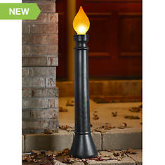 "40"" Lighted Candle"