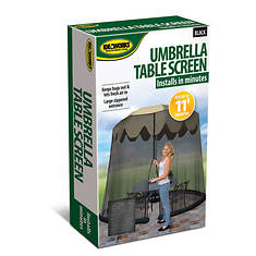Ideaworks 11' Umbrella Table Screen