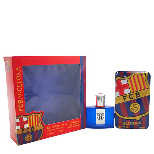 Gift Set with Metallic Box by FC Barcelona (Men's)