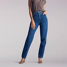 Lee Jeans Women's Side Elastic Tapered Leg Jean