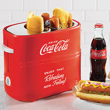 Nostalgia™ Coca-Cola Hot Dog Toaster