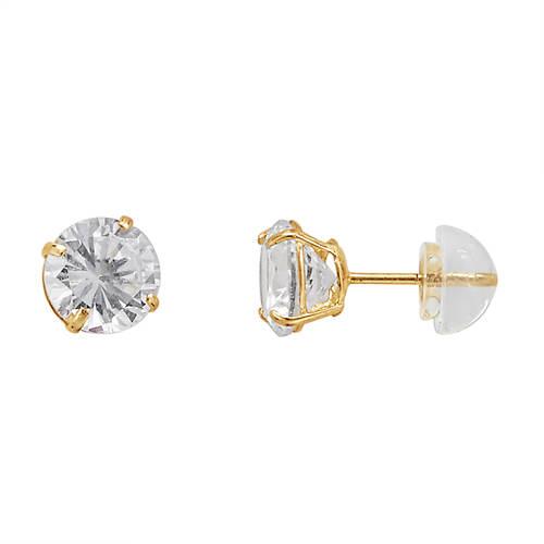 10K Gold Gemstone Earrings
