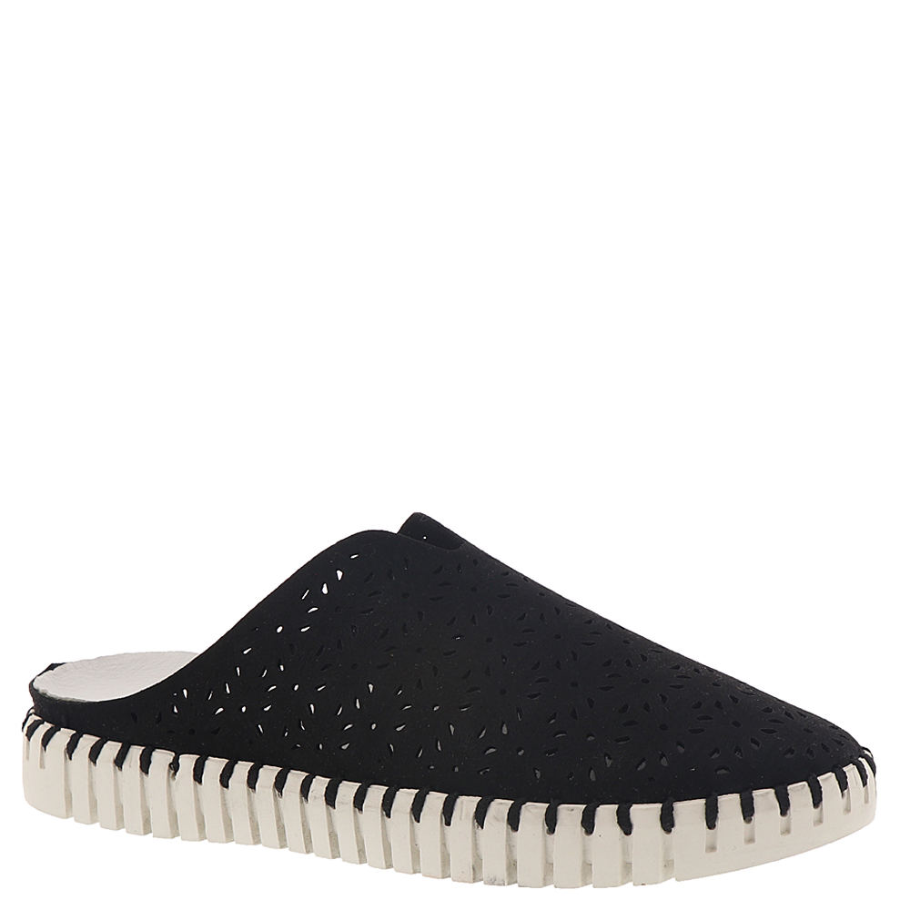 *This unique slip-on showcases marvelously charming details with every step *Leather upper with cutout accents *Easy slip-on styling *Soft leather lining *Memory foam footbed cushioning *Vertically grooved midsole with border stitching for a modern espadrille feel *Rubber-like sole with deep flex grooves *1\\\