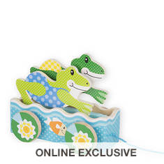 Melissa & Doug First Play Friendly Frogs Pull Toy