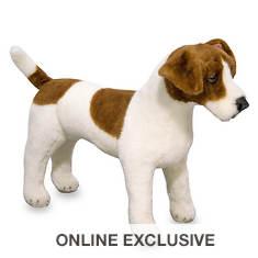 Melissa & Doug Plush Jack Russell Terrier