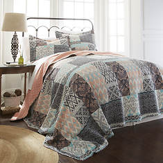 3-Piece Reversible Quilt Set