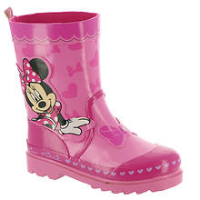 Disney Minnie Mouse Rain Boot CH29352C (Girls' Toddler)