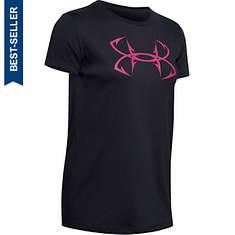 Under Armour Women's Fish Hook Logo Tee