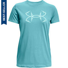 Under Armour Women's Fish Hook Logo Tee