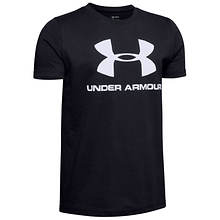 Under Armour Boys' Sportstyle Logo SS Tee