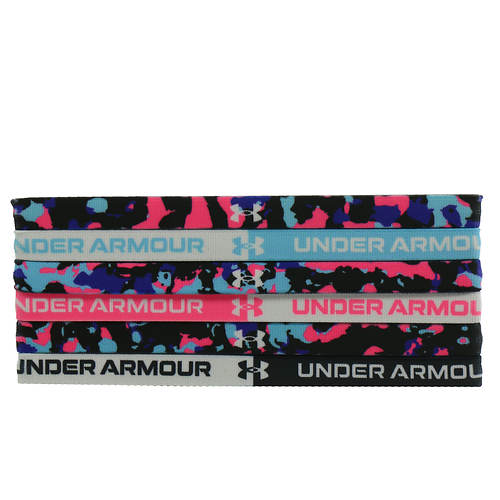 Under Armour Girls' Graphic Headband 6-Pack