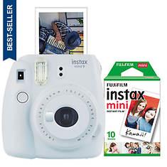 FUJIFILM Instax Mini 9 Camera with 10 Exp