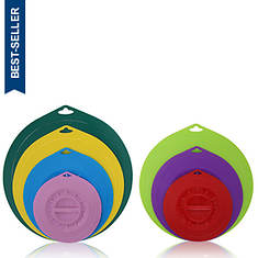 Elite Universal Silicone Suction Lids - 7-Pc. Round Set